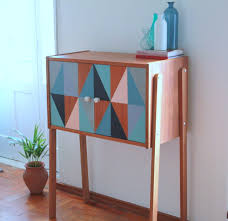 mid century entry table 15 swanky mid century modern diy projects decorating your small space
