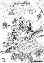 lego star wars coloring pages the freemaker adventures the