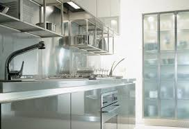 Glass Design For Kitchen Glass Kitchen Cabinets Home Designs Project