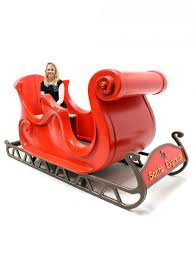 santa sleigh for sale santa s sleigh prop winter party themed prop hire