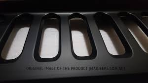 jeep grill logo angry angry grill grille jeep wrangler jk seven slot mad jeeps shop