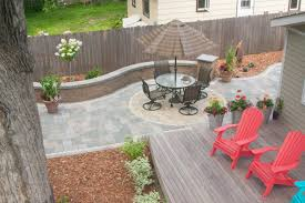 Stone Decks And Patios by Paving Stones Villa Landscapes