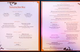 thanksgiving thanksgiving dinner menu november picture