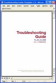 troubleshooting guide template u2013 5 ways to improve style and