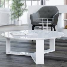 Accent Coffee Table Round Wood Coffee Table Visualizeus