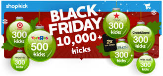 black friday offers target shopkick black friday offers earn 10 000 kicks u2013 hip2save