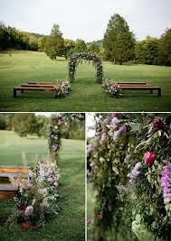 wedding arch nashville nashville lush lavender wedding