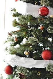 classic christmas tree decorations and two holiday diys