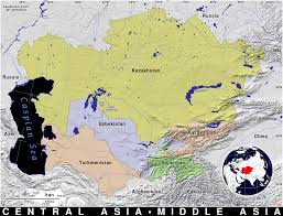 Central Asia Map by Central Asia Public Domain Maps By Pat The Free Open Source