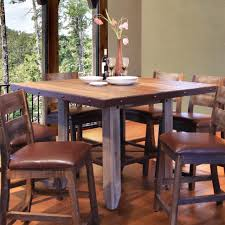 kitchen wonderful round counter height dining table pub style
