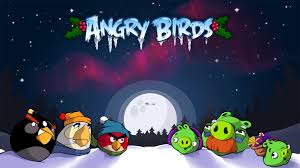 download the latest angry birds christmas wallpapers u0026 pictures
