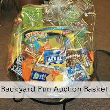 awesome gift baskets backyard auction basket firepit gift basket ideas