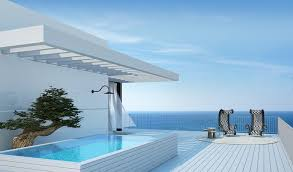 tel aviv penthouse patio and pool interior design ideas