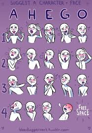 How To Draw A Meme Face - lewd face meme aka ahego meme by dragonbabbu on deviantart