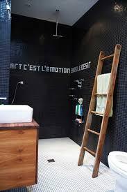 carrelage noir brillant salle de bain indogate com carrelage salle de bain moderne