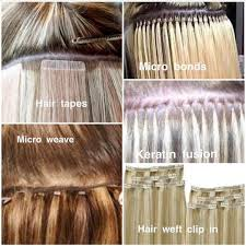 bonded hair extensions everything you wanted to about hair extensions methods