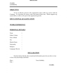 one page resume examples resume example and free resume maker