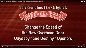 Overhead Door Program Remote Programming Your Opener