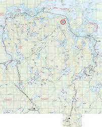Boundary Waters Map Bwca June 2010