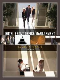hotel front office management real estate investment trust hotel