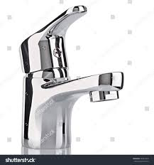 Kitchen Tap Faucet by Water Tap Faucet Bathroom Kitchen Mixer Stock Photo 524612218