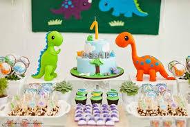 dinosaur birthday party supplies kara s party ideas dinosaur themed 1st birthday party with so many