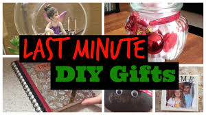 last minute diy christmas gift ideas youtube