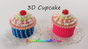 diy perler hama beads cupcake 3d how to tutorial by elegant