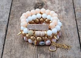 fashion elastic bracelet images The paige set is a combination of 4 handmade beaded bracelets to jpg