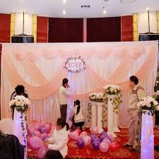 Curtains Wedding Decoration Pink Wedding Backdrop Party Stage Wedding Decoration Backdrop