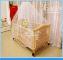 pine wood baby cot bed with small cradle inside exportimes com