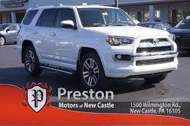 toyota new 2017 new 2017 toyota 4runner limited 4d sport utility in new castle
