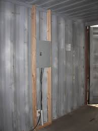 shipping container homes interior sea shipping container cabin shelter home interior framing