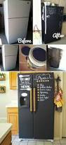 Chalkboard Kitchen Backsplash by Best 25 Chalkboard Paint Refrigerator Ideas On Pinterest