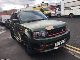 green range rover classic camouflage army green range rover sport 4 4 automatic petrol one