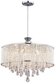 Drum Chandelier Lighting Crystal Drum Chandelier Good Furniture Net