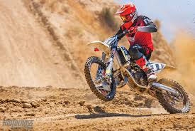 motocross action magazine motocross action magazine mxa race test 2017 husqvarna tc125 two