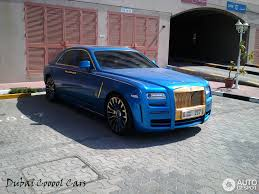 gold rolls royce blue gold mansory rolls royce ghost in dubai the saudi u0026 arab