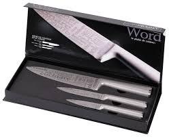 set couteau de cuisine coffret 3 couteaux de cuisine word pradel jean dubost
