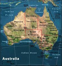 map of australia with cities and states maps page on australia