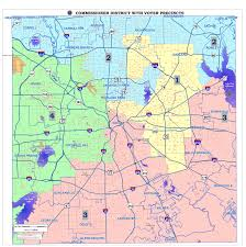 Map Of Dallas by Commissioner Cantrell District 2