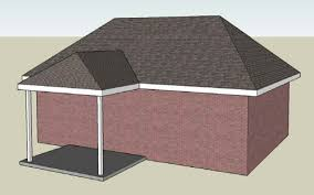 Hip Roof House Pictures Illustration Of A Typical Hip Roof Patio Cover With A Roof Tie In