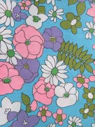 Flower Fabric Design Northern Passages Fabric Design 1960s And Prints