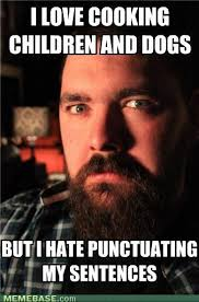 Punctuation Meme - this is how half of my fb friends post please learn the value of