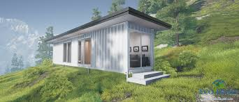 sch1 single 40ft container cabin plans eco home designer