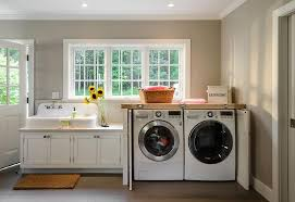 washer and dryer cabinets washer and dryer cabinet with fold in doors cottage laundry room