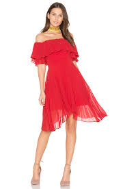 keepsake dresses keepsake seasons pleated dress scarlet women kpsa wd385