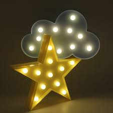 romantic 3d lamp led baby night light mood lamp children kids