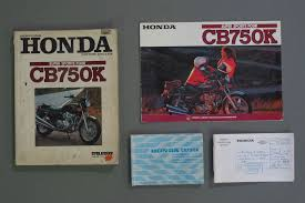 sold honda cb750k 750cc motorcycle auctions lot y shannons