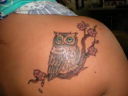 new simple owl tattoos designs and ideas with images